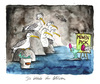Cartoon: Die Höhle der Möwen (small) by Mario Schuster tagged höhle,der,möwen,mario,schuster,karikatur,cartoon