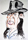 Cartoon: Udo Lindenberg (small) by DeviantDoodles tagged caricature,music,famous,rock,singer
