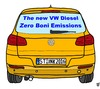 Cartoon: Zero Boni (small) by thalasso tagged vw,abgas,schummel,skandal,boni,manager