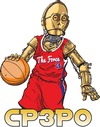 Cartoon: CPCPO (small) by karlwimer tagged cthreepio,chris,paul,basketball,star,wars,clippers