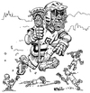 Cartoon: Czech Lacrosse (small) by karlwimer tagged lacrosse,sports,team,czech