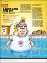 Cartoon: Shirt in the Pool Guy (small) by karlwimer tagged sports,pool,sunbathing,watersports,swimming