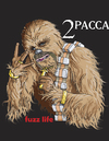 Cartoon: Tu-Pacca (small) by karlwimer tagged star,wars,chewbacca,tupac,shakur,rap,music,wookie