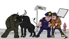 Cartoon: Occupy Wall street (small) by Ballner tagged occupy,wall,street