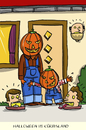 Cartoon: halloween im kürbisland (small) by leopold maurer tagged halloween