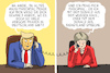 Cartoon: trump mobbt merkel (small) by leopold maurer tagged trump,mobbiing,merkel,deutschland,usa,donald,weisses,haus,disneyland,praesident,kanzlerin,angela