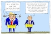 Cartoon: trump und pence (small) by leopold maurer tagged usa,trump,pence,präsident,verharmlosung,demokratie,antidemokratisch