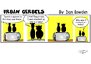 Cartoon: Urban gerbils. Squirrels (small) by Danno tagged comic,cartoon,strips,traditional,funny,panel,humor,gerbil,squirrel