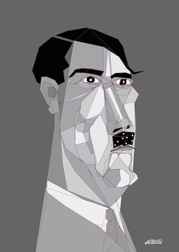 Cartoon: Hitler  Luck (medium) by omar seddek mostafa tagged hitler,luck