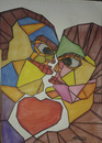 Cartoon: LOVE (small) by omar seddek mostafa tagged love