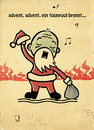 Cartoon: Advent (small) by cosmo9 tagged weihnachten,advent,toonpool