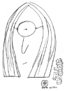 Cartoon: John Lennon (small) by serralheiro tagged john,lennon,caricature,draw
