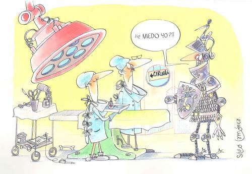 Cartoon: Medicine 1 (medium) by Lamo tagged medicine