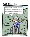 Cartoon: Moses (small) by Astu tagged religion moses