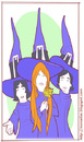 Cartoon: Os Mutantes (small) by Freelah tagged mutantes tropicalia psychedelia mpb