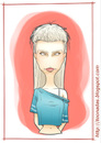 Cartoon: Yo-Landi (small) by Freelah tagged yolandi