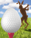 Cartoon: Ostergolf (small) by Jan Rieckhoff tagged ostern,osterei,golf,golfball,osterhase,golfspieler,golfei,tee,putter,green,golfplatz,einlochen,cartoon,jan,rieckhoff