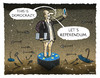 Cartoon: ... (small) by markus-grolik tagged griechenland,schuldenkrise,tsipras,ultimatum,grexit,merkel,juncker,draghi,dijsselbloemes,cartoon,grolik