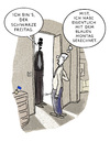Cartoon: Besuch... (small) by markus-grolik tagged besuch,wirtschaft,krise,burn,wochentage,out,depression,november,und,so,weiter,cartoon,grolik