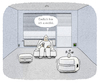 Cartoon: ...E-Utopie... (small) by markus-grolik tagged verkehr,mobilität,möbel,mobil,elektrisch,digital,indoor,stau
