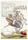 Cartoon: Hausmann (small) by markus-grolik tagged hausmann,vater