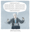 Cartoon: ...Horst... (small) by markus-grolik tagged csu,obergrenze,bundestagswahl,bayern,horst,seehofer,cdu,schwesterpartei