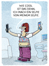 Cartoon: ..posing.. (small) by markus-grolik tagged selfie,posing,internet,blog,selbstdarstellung,narzissmus,online,profil,facebook,twitter,social,media