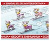 Cartoon: ...Seefeld... (small) by markus-grolik tagged doping,wintersport,seefeld,spitzensport,spritzensport,langlauf,ski,skilanglauf