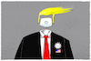 Cartoon: Trump-US-Corona.. (small) by markus-grolik tagged trump,us,corona,virus,usa,epidemie,pandemie,covid,19