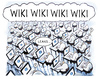 Cartoon: wiki-leaks (small) by markus-grolik tagged wiki leaks wikileak wikileakage steuer enthüllungen