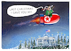 Cartoon: ...X-mas.. (small) by markus-grolik tagged nordkorea,konflikt,usa,trump,pjöng,jang,kim,jong,un,donald,raketentest,rakte,interkontinentalrakete,raketenmann,weihnachten,weltfrieden,wasserstoffbombe,bombe