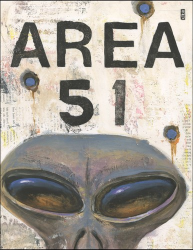 Cartoon: Alien Selfie (medium) by greg hergert tagged alien,area51,selfie