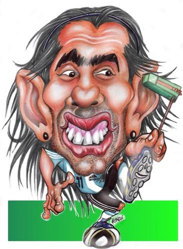 : Carlitos (medium) by rubenquiroga tagged tevez,mundial,carlitos