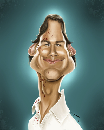 Cartoon: Dexter (medium) by jaime ortega tagged dexter
