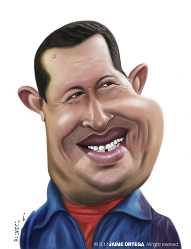 Cartoon: Hugo Chavez (medium) by jaime ortega tagged hugo,chavez