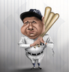 Cartoon: Babe Ruth (small) by jaime ortega tagged babe,ruth