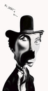 Cartoon: chaplin (small) by jaime ortega tagged charles,chaplin