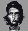 Cartoon: Che Guevara (small) by jaime ortega tagged che,guevara