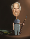 Cartoon: Clint Eastwood (small) by jaime ortega tagged clint,eastwood