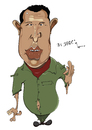 Cartoon: Hugo Chavez (small) by jaime ortega tagged hugo,chavez,venezuela