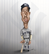 Cartoon: Joe Dimaggio (small) by jaime ortega tagged joe,dimaggio