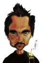 Cartoon: Juanes (small) by jaime ortega tagged el,yerbatero,juanes,colombia