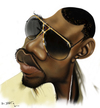 Cartoon: kanye West (small) by jaime ortega tagged rapero,kanye,west
