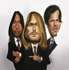 Cartoon: Nirvana (small) by jaime ortega tagged nirvana
