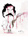 Cartoon: Pablo Escobar (small) by jaime ortega tagged capo,mafia,pablo,escobar,narcotrafico,drogas,colombia