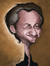 Cartoon: Sean Penn (small) by jaime ortega tagged sean,penn