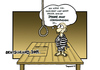 Cartoon: 2011 (small) by Marcus Trepesch tagged iphone death execution hanging cartoon