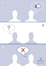 Cartoon: facebook (small) by Tonho tagged facebook