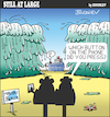 Cartoon: Still at large 115 (small) by bindslev tagged parting,of,the,water,mobile,technology,malibu,beach,ship,stranded,biblical,history,app,bible,story,stories,torah,exodus,red,sea,moses,miracle,miracles,apps,application,applications,cell,cells,mobiles,phone,phones,gadget,gadgets