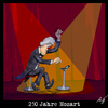 Cartoon: 250 Jahre Mozart (small) by Anjo tagged mozart,handy,klingelton,jamba,musik,klassik